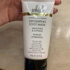 BRAND NEW wish exfoliating foot cream